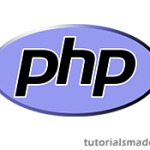 PHP Program to print Right angled triangle of Stars